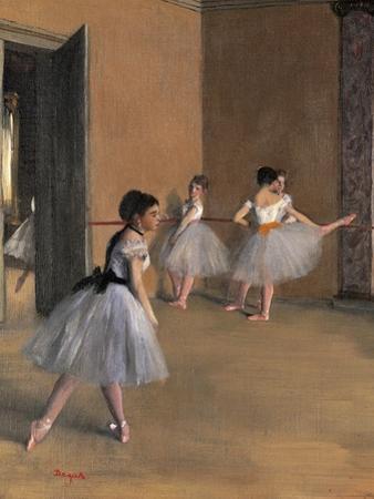 Sheaves Late Summer, Morning Effect by Edgar Degas