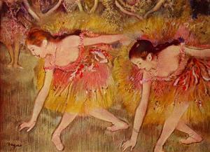 Sich Verbeugende Tanzerinnen Ballerina by Edgar Degas