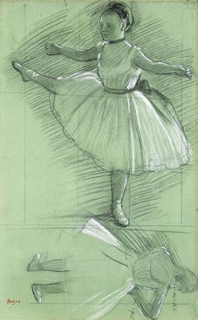 Study of a Dancer by Edgar Degas