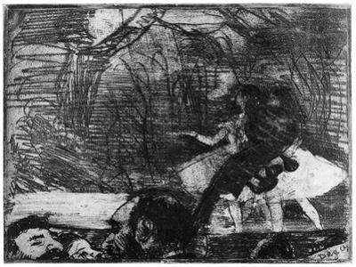 Sur La Scene, C1850-1910 by Edgar Degas