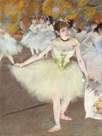Sur La Scene by Edgar Degas
