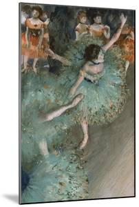 Swaying Dancer (Dancer in Gree), 1877-1878 by Edgar Degas