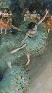 Swaying Dancer (Dancer in Green), from 1877 until 1879 by Edgar Degas