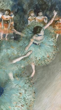 Swaying Dancer (Dancer in Green) by Edgar Degas