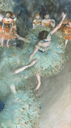 Swaying Dancer (Dancer in Green) by Edgar Degas