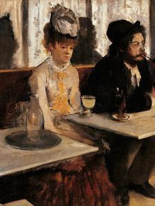 The Absinthe Absinthe Drinker by Edgar Degas