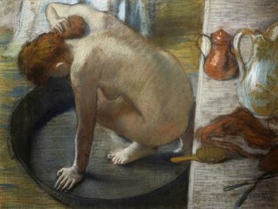 The Bath, 1886 by Edgar Degas