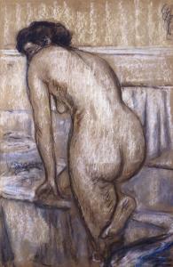 The Bath by Edgar Degas