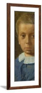 The Child in Blue by Edgar Degas
