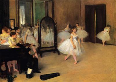 The Dance Class, 1871 by Edgar Degas