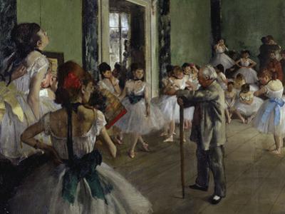 The Dance Class, c.1875 by Edgar Degas