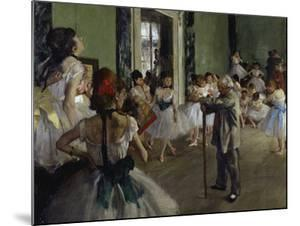 The Dance Class, c.1875 by Edgar Degas