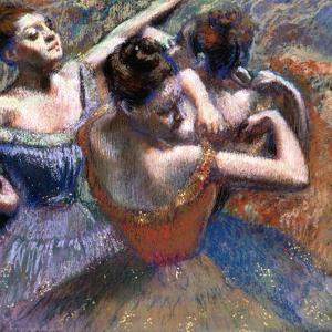 The Dancers, 1899 by Edgar Degas