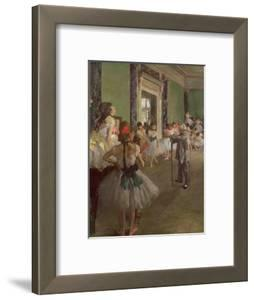 The Dancing Class, circa 1873-76 by Edgar Degas