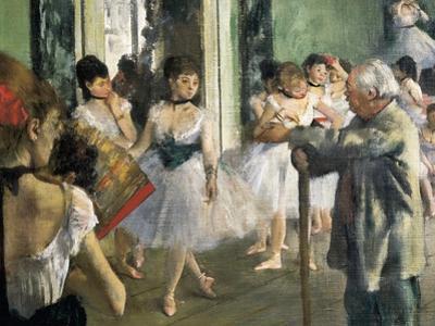 The Dancing Class by Edgar Degas