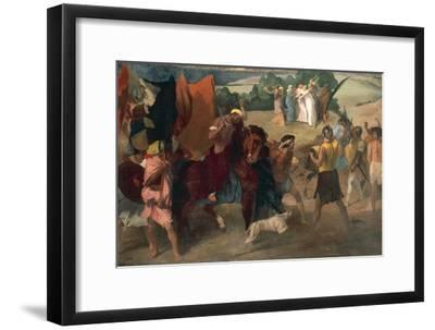 The Daughter of Jephthah, 1859-1860