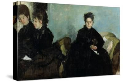 The Duchess De Montejasi and Her Daughters Elena and Camilla, 1876