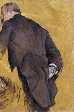 The Impresario by Edgar Degas