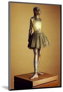 The Little Fourteen Year Old Dancer, Cast 1921 by Edgar Degas