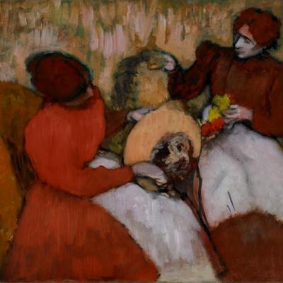 The Milliners, C.1898 by Edgar Degas