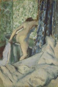 The Morning Bath, 1887-90 by Edgar Degas