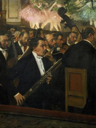 The Opera Orchestra, about 1870 by Edgar Degas