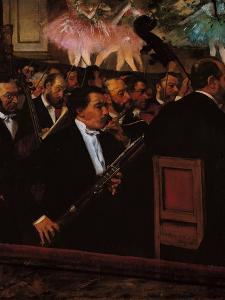 The Orchestra at the Opera House by Edgar Degas