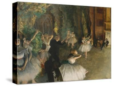 The Rehearsal of the Ballet on Stage, c.1878-79