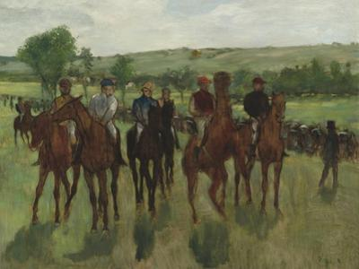The Riders, c.1885 by Edgar Degas