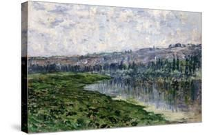 The Seine and the Hills of Chantemsle, 1880 by Edgar Degas