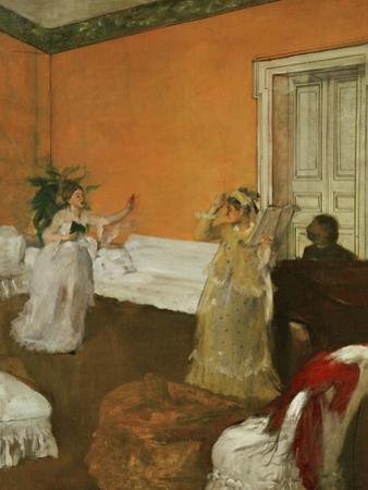 The Song Rehearsal by Edgar Degas