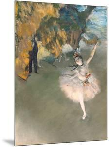 The Star, or Dancer on the Stage, circa 1876-77 by Edgar Degas