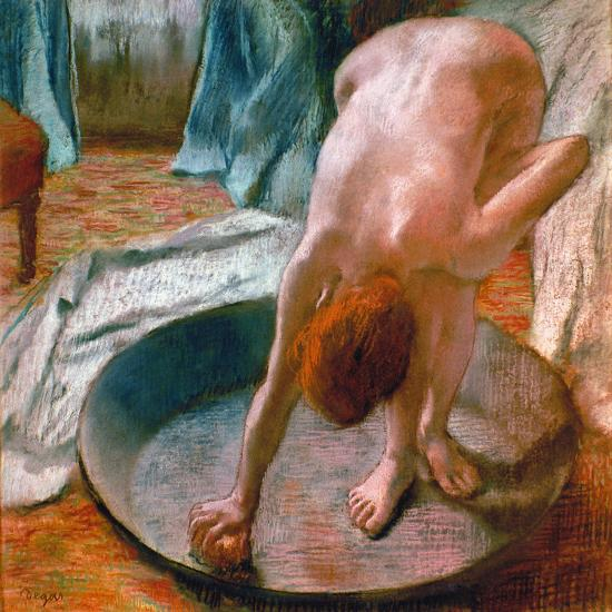 edgar degas the tub