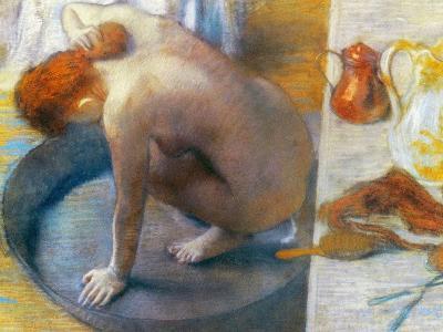 Edgar Degas: The Tub, 1886-Edgar Degas-Giclee Print
