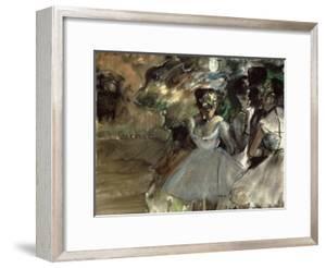 Three Dancers in the Wings by Edgar Degas