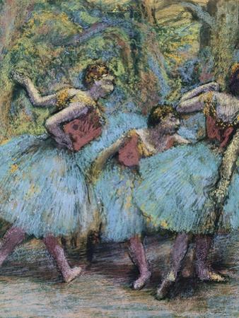 Three Dancers (Trois Danseuse), C. 1903 by Edgar Degas