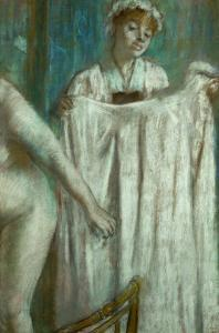 Toilette after the Bath, 1888-1889 by Edgar Degas