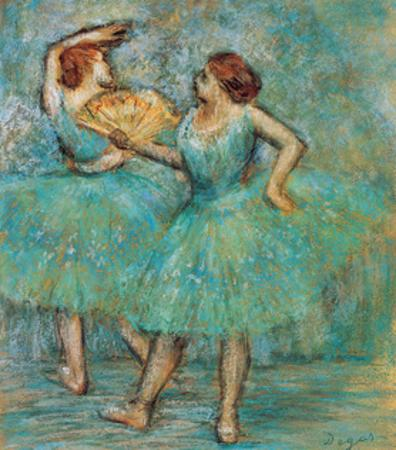 Two Dancers, C. 1905 by Edgar Degas