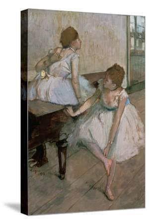 Two Dancers Resting, 1874 by Edgar Degas