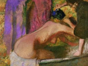 Woman at Her Bath, circa 1895 by Edgar Degas