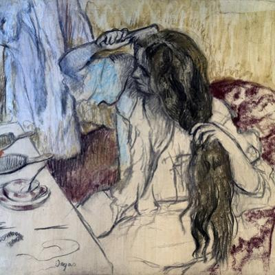 Woman at Her Toilette, 1889 by Edgar Degas