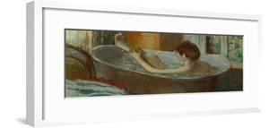 Woman in Her Bath, Washing a Leg, 1883-1884 by Edgar Degas