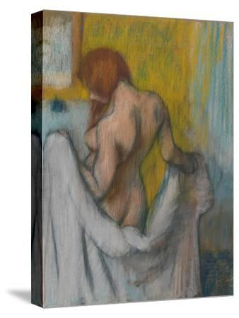 Woman with a Towel, 1894 or 1898 by Edgar Degas
