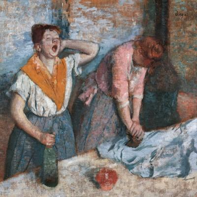 Women Ironing