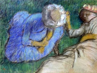 Young Women Resting, Late 19th-Early 20th Century by Edgar Degas