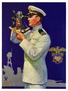 """""""Naval Officer,""""February 24, 1934 by Edgar Franklin Wittmack"""