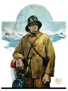 """Storm at Sea,""November 6, 1926 by Edgar Franklin Wittmack"