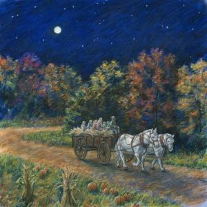 Moonlight Hayride by Edgar Jerins