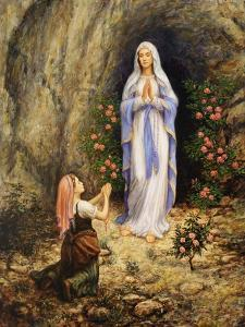 Our Lady of Lourdes by Edgar Jerins