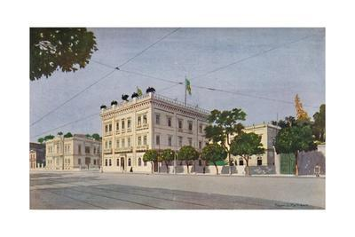 'Cattete Palace - The Official Residence of the President of Brazil', 1914